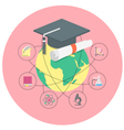 Academic Education Concept vector image