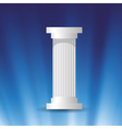 marble column vector image vector image