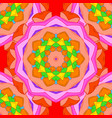 abstract mandala on a colored background vector image