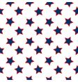 american stars flag pattern vector image