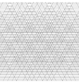 triangle striped on white background vector image