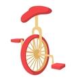 Unicycle icon cartoon style vector image