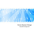 sky rays banner vector image