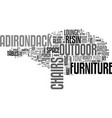 adirondack resin lounge chairs the best way to vector image