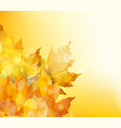 happy thanksgiving autumn background with vector image