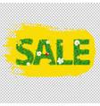 summer sale banner blots for design vector image