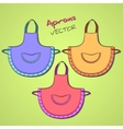 Apron vector image