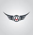 aviator symbol logo logotype theme vector image