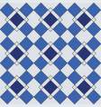Harlequin geometric seamless patterns vector image