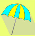 summer umbrella icon vector image