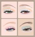 Make-up-eyes vector image vector image