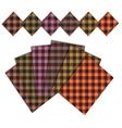 caro warm pattern vector image