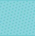 abstract jewish star pattern vector image