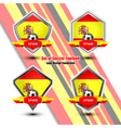 Logo Design Templates Spain vector image