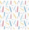London Symbols Colorful Seamless Pattern vector image