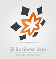 Originally created business icon vector image