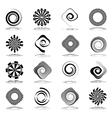 Design elements set vector image vector image