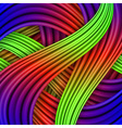 Colorful striped background for your design vector image