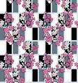japanese modern pattern vector image
