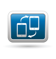 Phone connection icon vector image