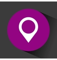 location pin icon vector image