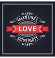Valentine s Day Greeting Cards vector image
