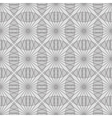 Striped circles on white background vector image