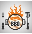 Grill design bbq and menu concept editable vector image