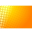 Shiny abstract orange background vector image vector image