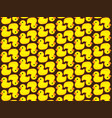pattern duck vector image