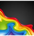 Abstract rainbow vector image
