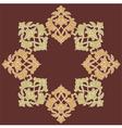 artistic ottoman pattern series eighteen vector image
