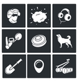 Demolitions sapper icons vector image