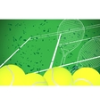 tennis illustration vector image
