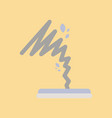 flat icon on stylish background disaster tornado vector image