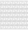 Abstract background with white pyramids vector image vector image