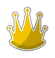 royal crown icon image vector image