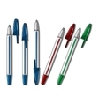Ballpen pen vector image