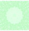 Abstract green color frame design Circle made vector image