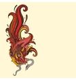 Garuda Hand drawn vector image vector image