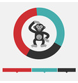 Intellect infographics vector image