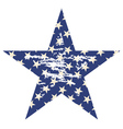 Grunge Star2 vector image