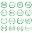 Eco and bio concept vector image