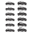 Cars and off road vehicles vector image
