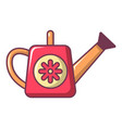 watering can icon cartoon style vector image