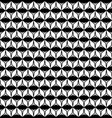 geometric texture with rhombuses triangles rows vector image vector image