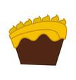 cake dessert pastry vector image