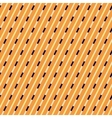 Orange and blue diagonal stripes pattern vector image