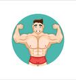 Bodybuilding Coach vector image