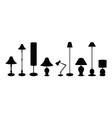 lampshade set vector image